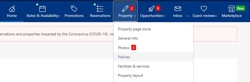 Booking.com Child rates