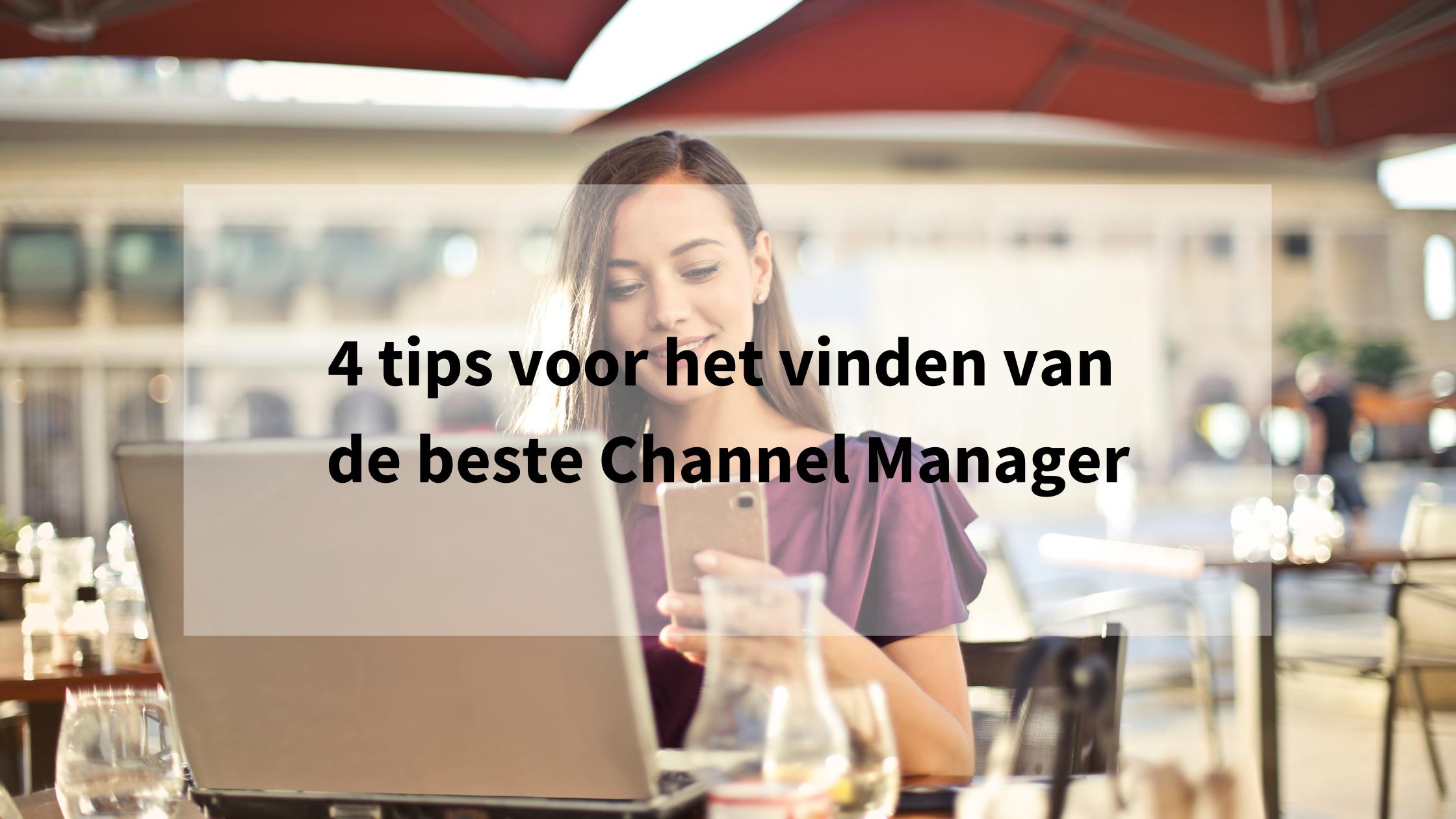 de beste channel manager