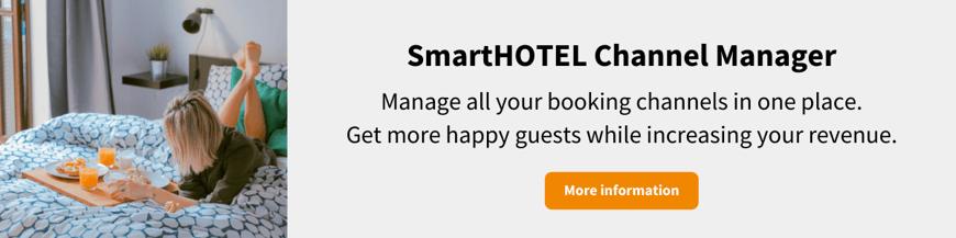 SmartHOTEL Channel Manager banner