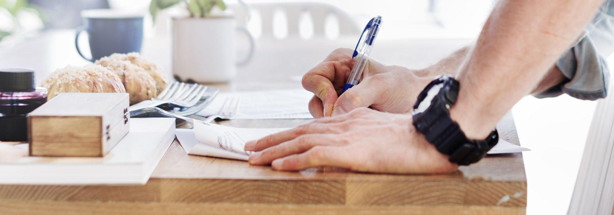 Handwritten notes data privacy