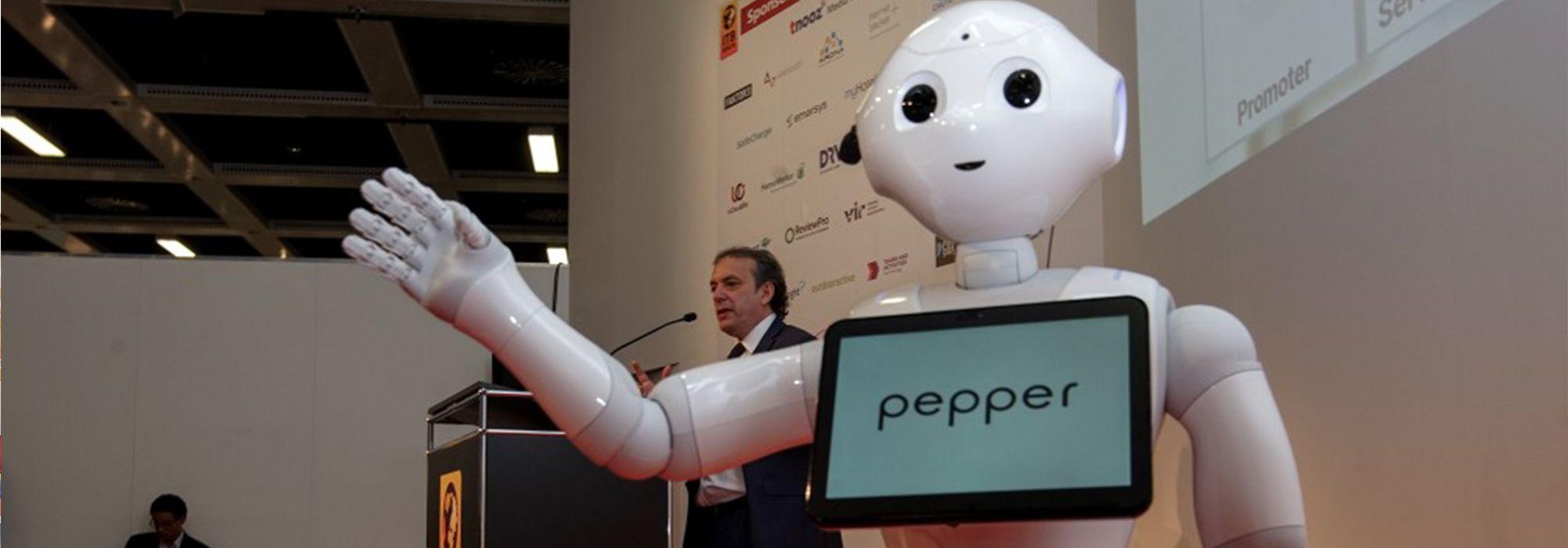 AI Technology - Servicebot Pepper
