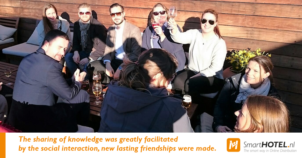 The sharing of knowledge was greatly facilitated by the social interaction, new lasting friendships were made.