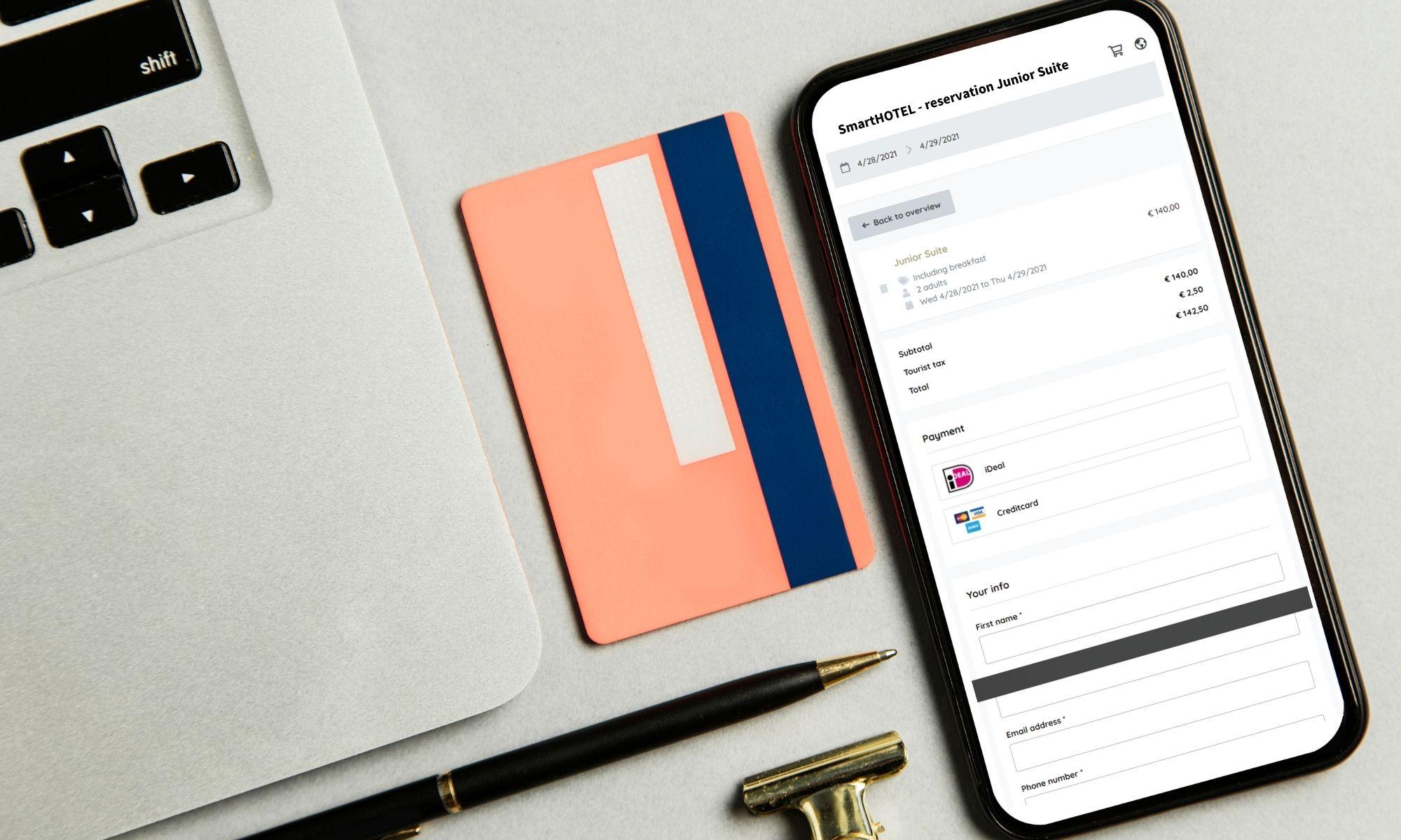 Waarom hotels (geen) virtuele creditcards willen